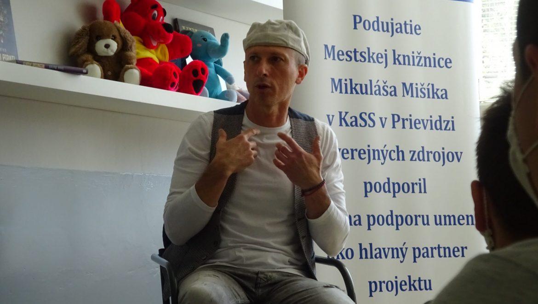 Beseda s ilustrátorom Viktorom Csibom