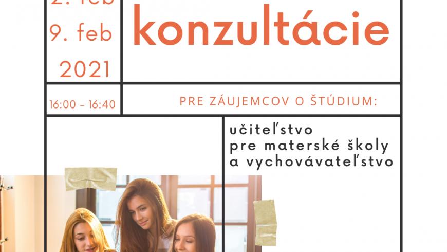 Online konzultácie – odbor UMŠaV