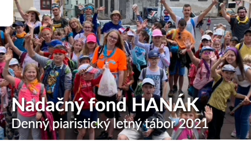 Podporte Piaristický denný letný tábor 2021
